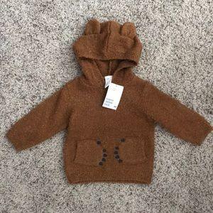 H&M baby bear hoodie